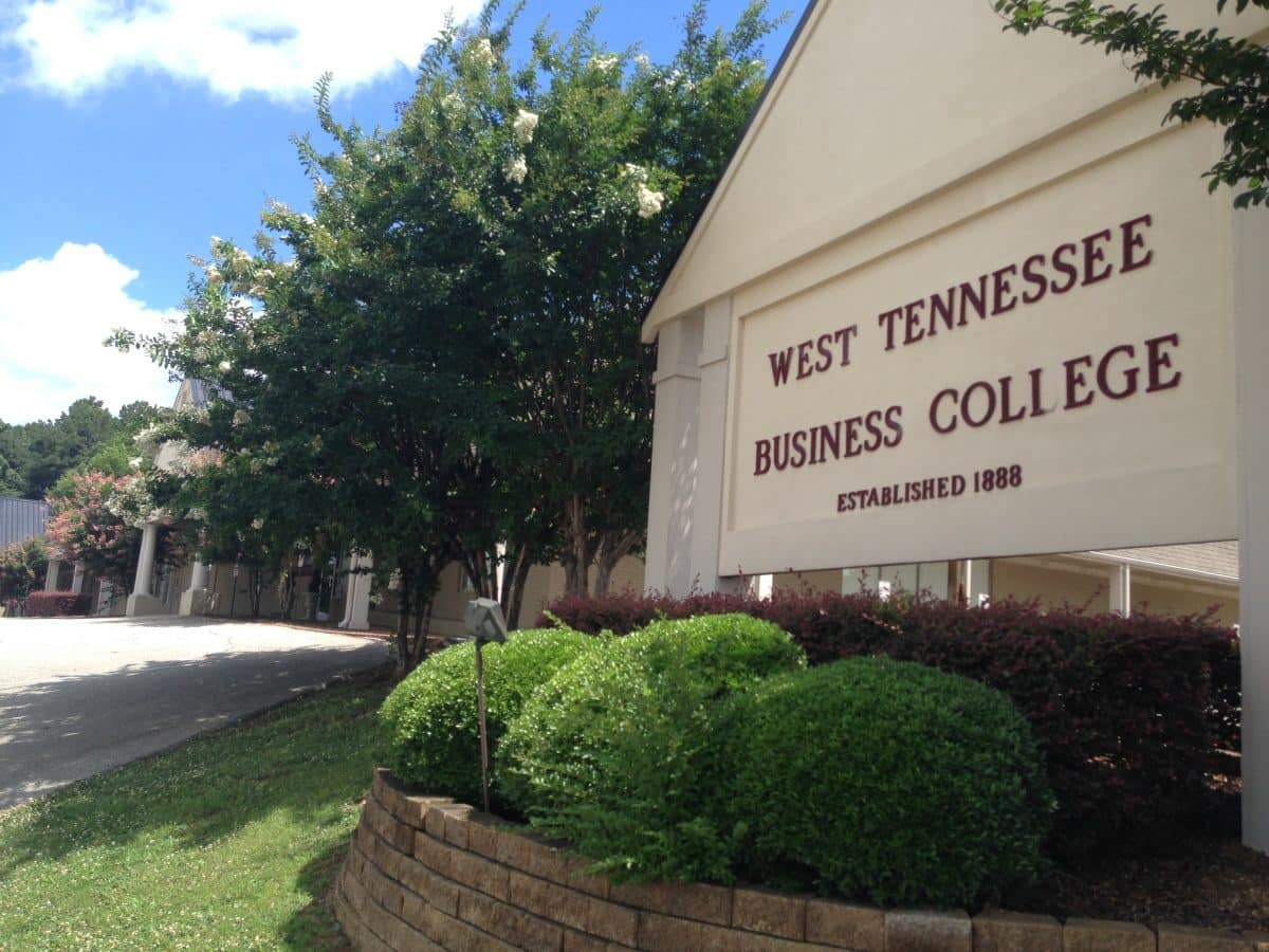 west tenn business college image